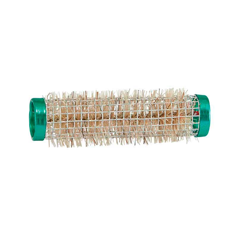 Mex pro Hair Borstenwickler Ř 15 mm Draht Grün (12 Stück)
