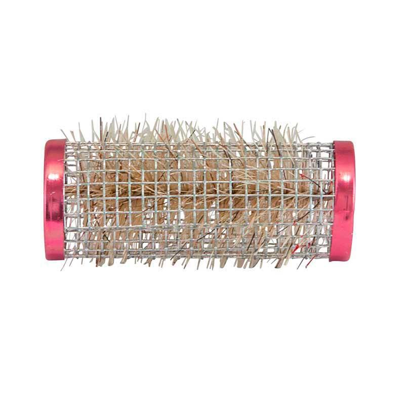 Mex pro Hair Borstenwickler Ř 24 mm Draht Rot (12 Stück)