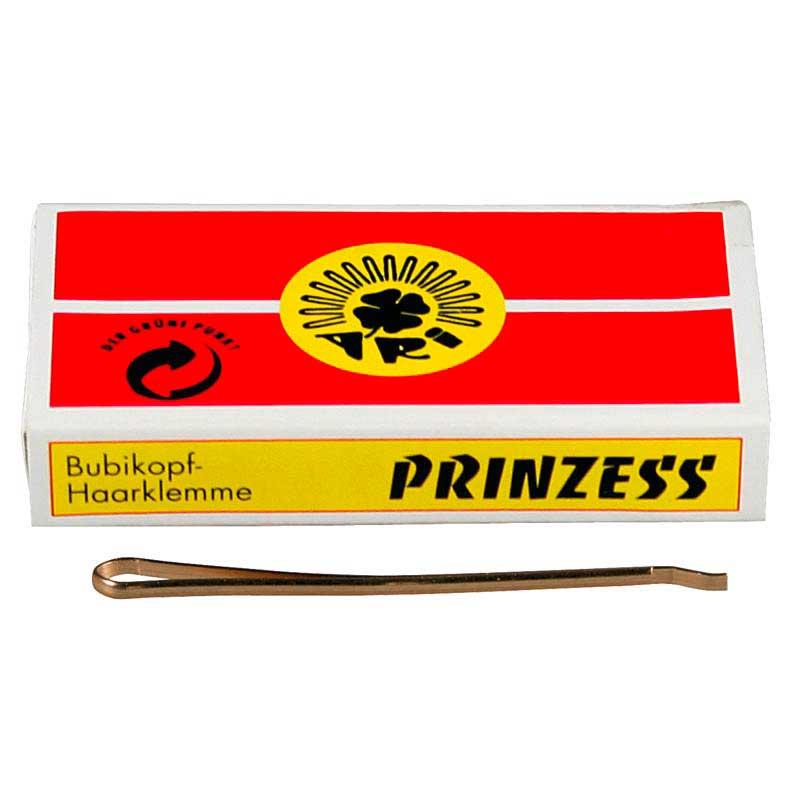 weitere Marken Prinzess Prinzess Haarklemme 50 mm Gold (12 Stück)