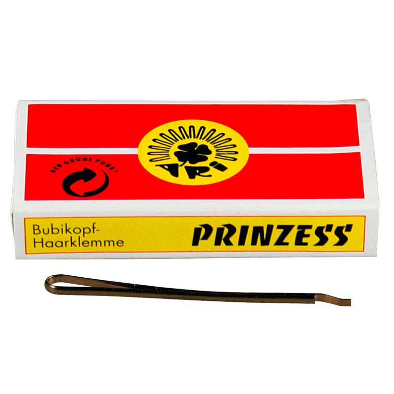 weitere Marken Prinzess Prinzess Haarklemme 50 mm Blond (12 Stück)
