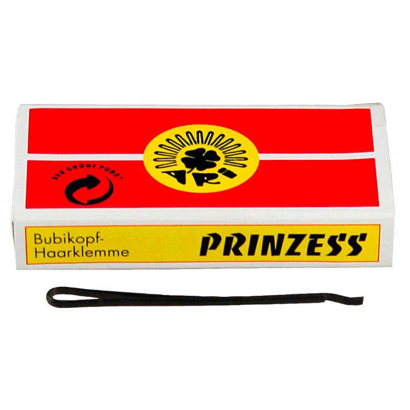 weitere Marken Prinzess Prinzess Haarklemme 50 mm Schwarz (12 Stück)