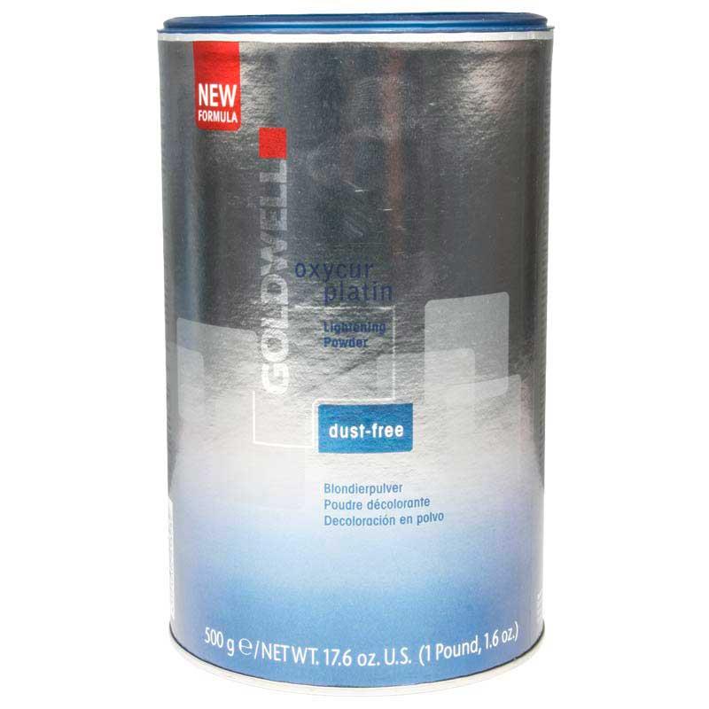 Goldwell Blondierung Oxycur Platin Blondierpulver staubfrei (500 g)