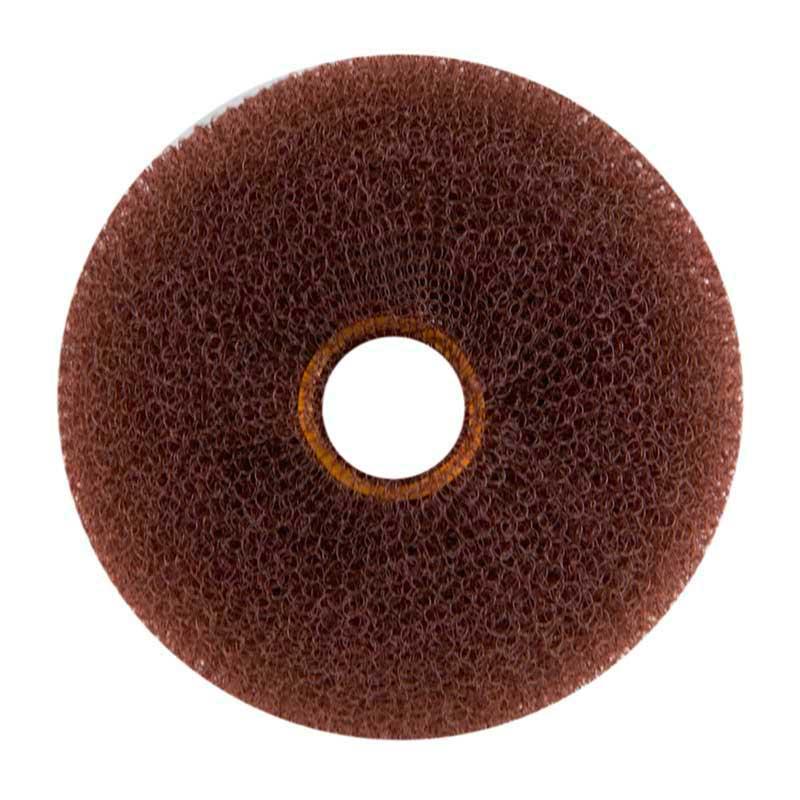 Mex pro Hair Knotenring Duttring 9 cm, Braun