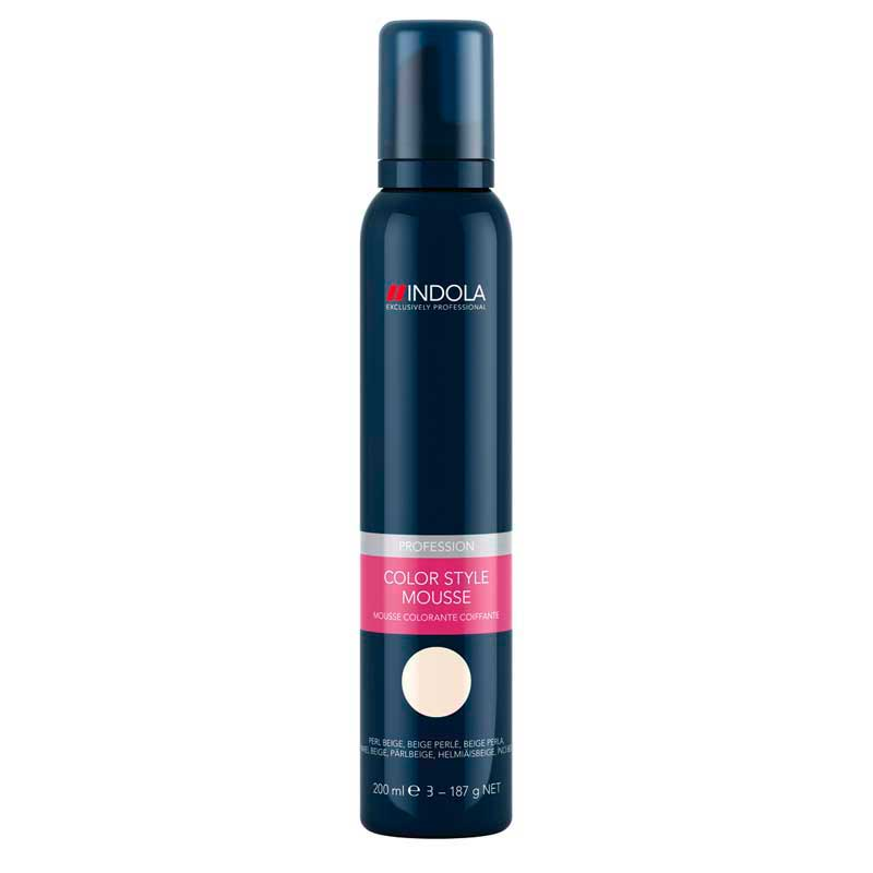 how to use indola colour mousse