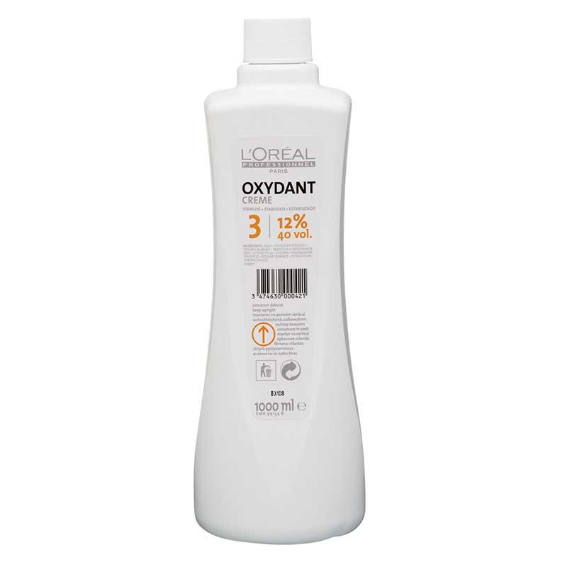 LOreal L'Oréal Professionnel Oxydant Creme 12% 40 vol. (1000 ml)