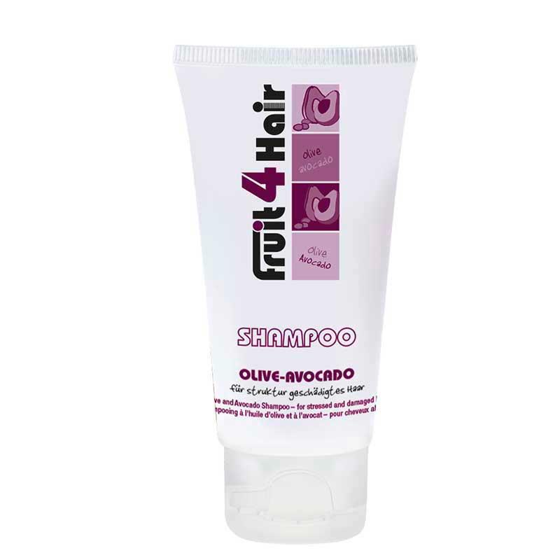LOVE FOR HAIR Fruit 4 Hair Olive-Avocado Shampoo für geschädigtes Haar (50 ml)