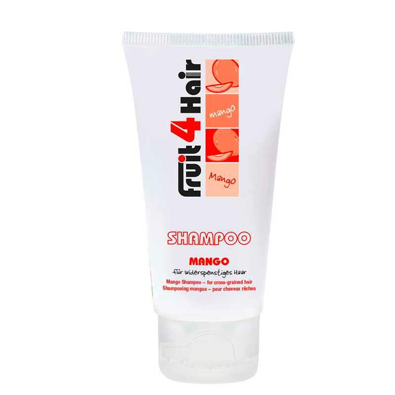 LOVE FOR HAIR Fruit 4 Hair Shampoo Mango Mini gegen widerspenstiges Haar (50 ml)