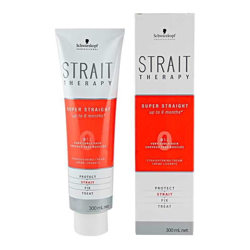 Schwarzkopf Strait Therapy Straight Cream 0 (300 ml)