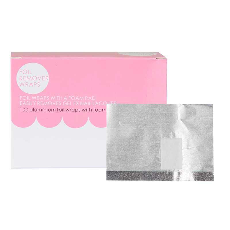 Mex pro Hair Nagelfolie mit Pad 7,5 x 10,5 cm (100 Stück)