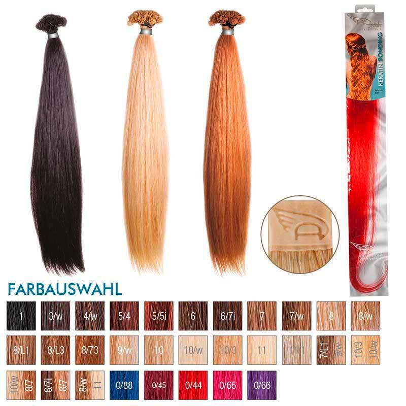 Angel Hair Keratin Bonding 0/44 Rot (10 Stück)