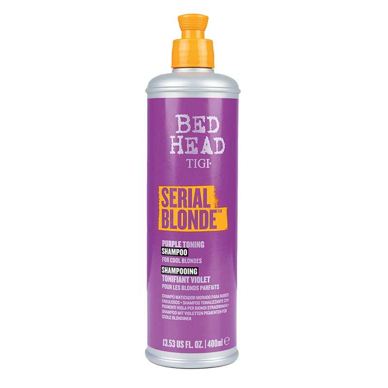 Tigi Bed Head Dumb Blond Purple Toning Shampoo (400 ml)