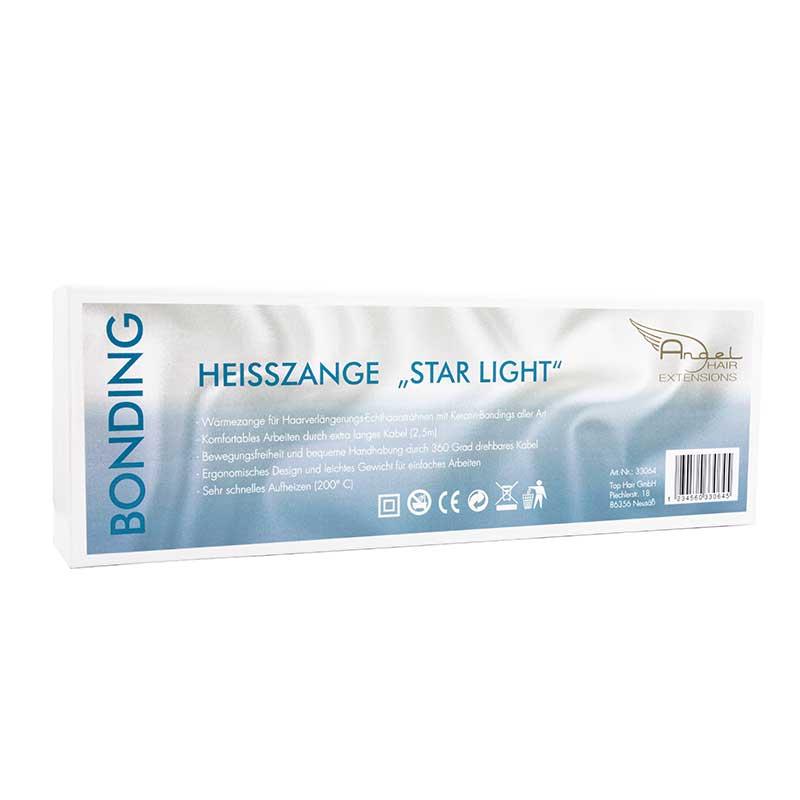 Angel Hair Heißzange Star Light für Extensions