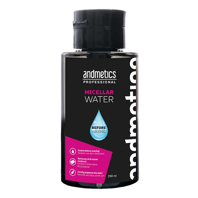 andmetics Before Waxing Micellar Water 250ml (250 ml)