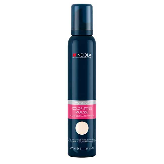 Indola Profession Color Style Mousse Perl Beige Blond (200 ml)