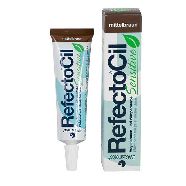 RefectoCil Sensitive Mittelbraun, 15 ml
