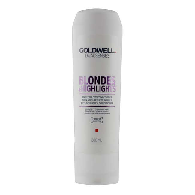 Goldwell Dual Senses Blondes and Highlights Anti Yellow Conditioner (200 ml)