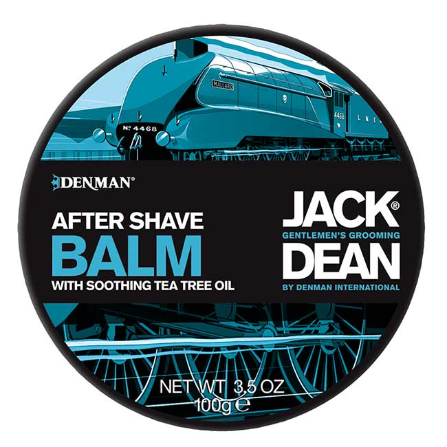 Denman Jack Dean After Shave Balm with Soothing Tea Tree Oil (100 g)
