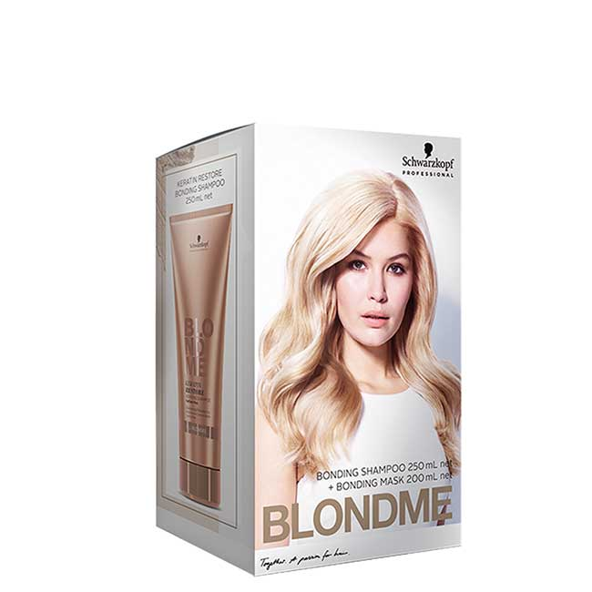 BME All Blondes Duo Pack Maske + Shampoo