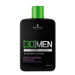 Schwarzkopf [3D]MEN Activating Shampoo (250 ml)