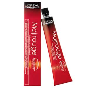 L'Oréal Professionnel Majirouge 6.66 Dunkelblond Tiefes Rot Carmilane (50 ml)
